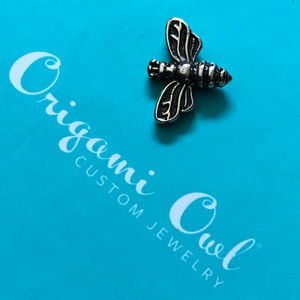 5 for $19 Origami Owl Gold Queen Bee Retired 2G